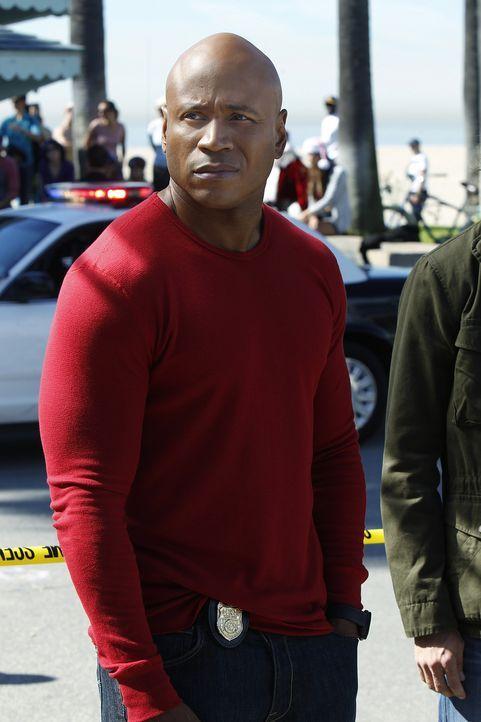 Ermittelt Undercover im sonnigen Los Angeles, um die nationale Sicherheit zu wahren: Special Agent Sam Hanna (LL Cool J.) ... - Bildquelle: CBS Studios Inc. All Rights Reserved.