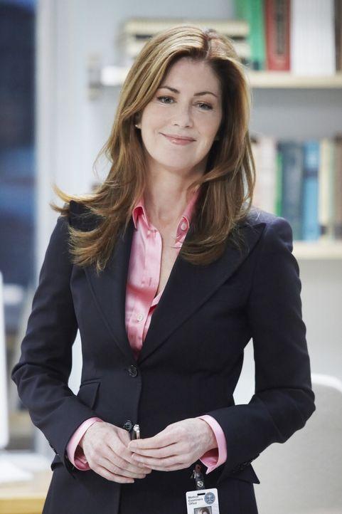 Zwischen Leichen und verstümmelten Extremitäten angekommen, überschreitet Megan (Dana Delany) ein um's andere Mal Ihre Kompetenzen, während Sie sich... - Bildquelle: 2010 American Broadcasting Companies, Inc. All rights reserved.