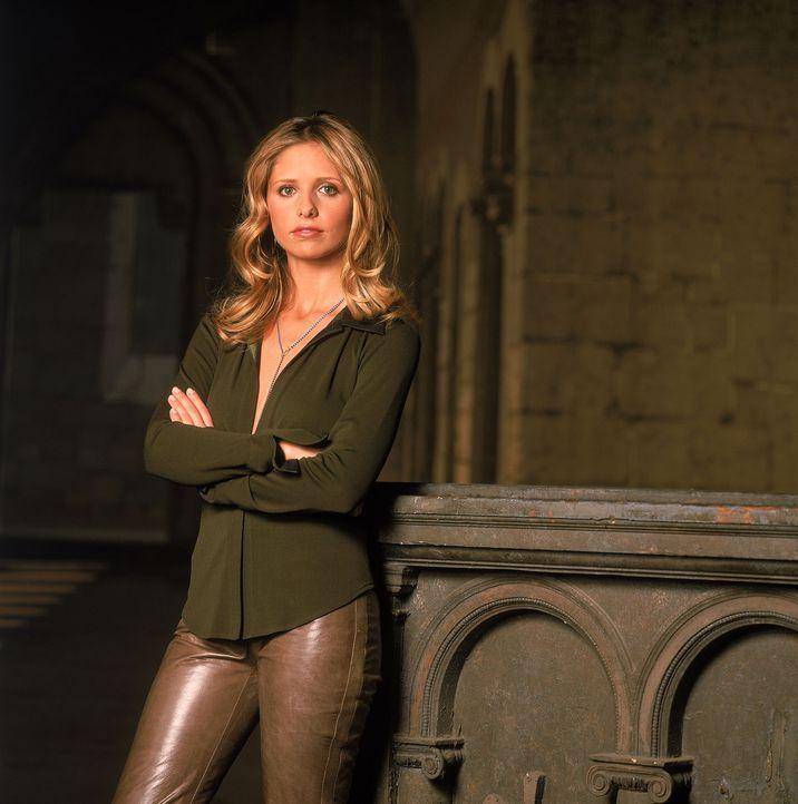 (5. Staffel) - Viele aufregende Abenteuer warten auf Buffy (Sarah Michelle Gellar), die Vampirjägerin ... - Bildquelle: 2000-2001 Twentieth Century Fox Film Corporation. All rights reserved.