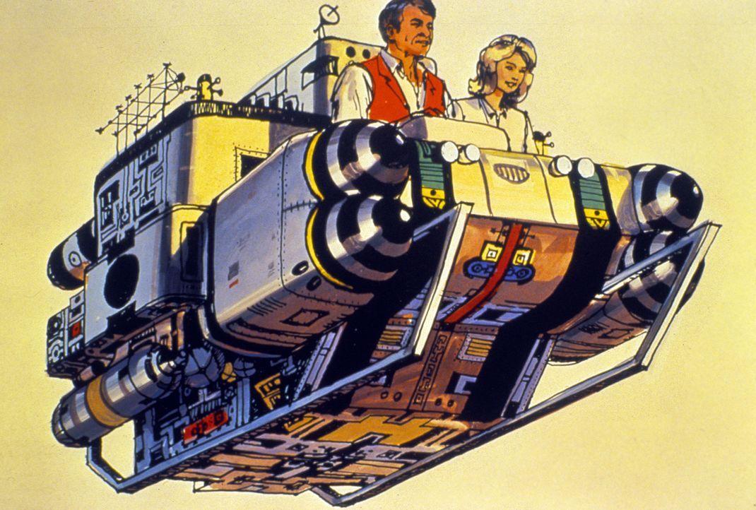 """""""Die Zeitmaschine"""" - Artwork - Bildquelle: Warner Bros. Pictures"""