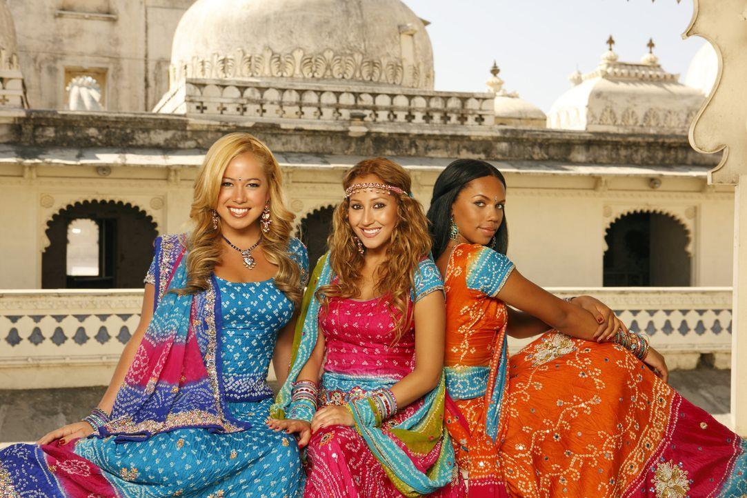 Der internationale Durchbruch kann kommen: die Cheetah Girls (v. l. n. r. Sabrina Bryan, Adrienne Bailon, Kiely Williams) ... - Bildquelle: Disney - ABC - ESPN Television