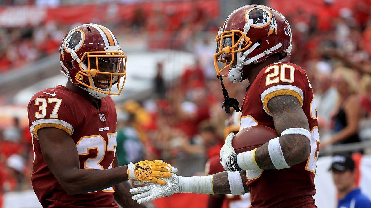 Platz 17: Washington Redskins - Bildquelle: 2018 Getty Images