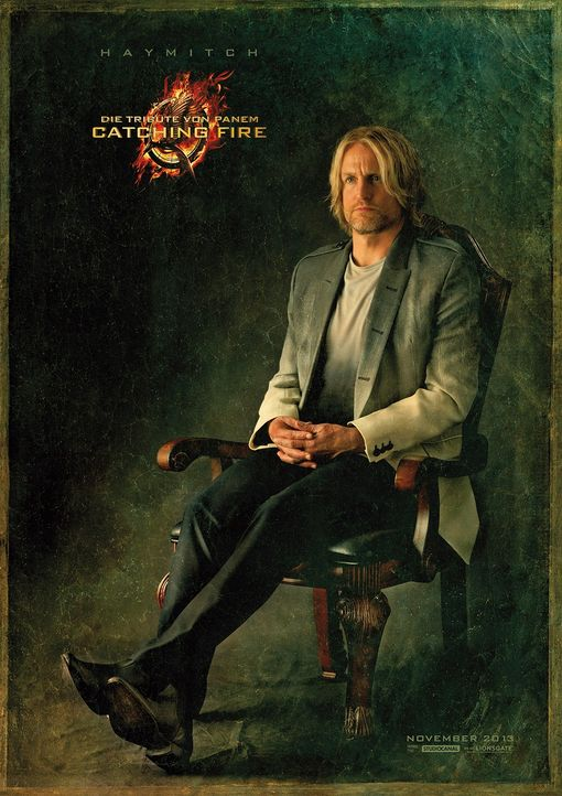 Woody Harrelson als Haymitch Abernathy in Catching Fire - Bildquelle: Studiocanal