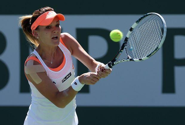 Agnieszka Radwanska (Weltrangliste: Nr. 3) - Bildquelle: Getty