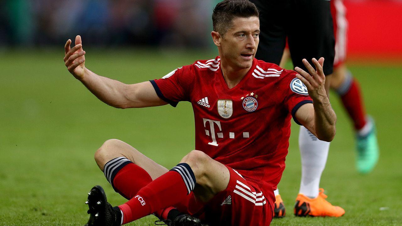 Robert Lewandowski weg vom FC Bayern - Bildquelle: 2018 Getty Images