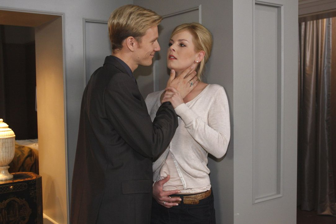 Alexandra (Ivonne Schönherr, r.) erwartet ein Kind von Philip (Philipp Romann, l.). Und er hat nur noch ein Ziel: Er will mit Alexandra das gemeins... - Bildquelle: SAT.1