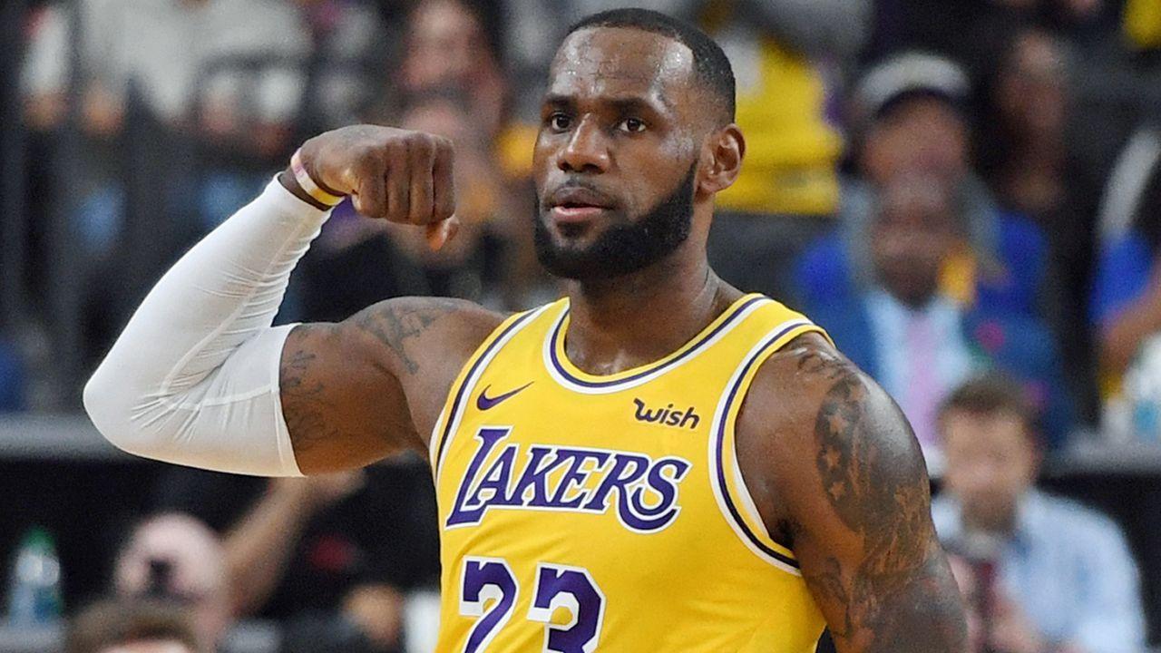Platz 1: LeBron James, Los Angeles Lakers - Bildquelle: 2018 Getty Images