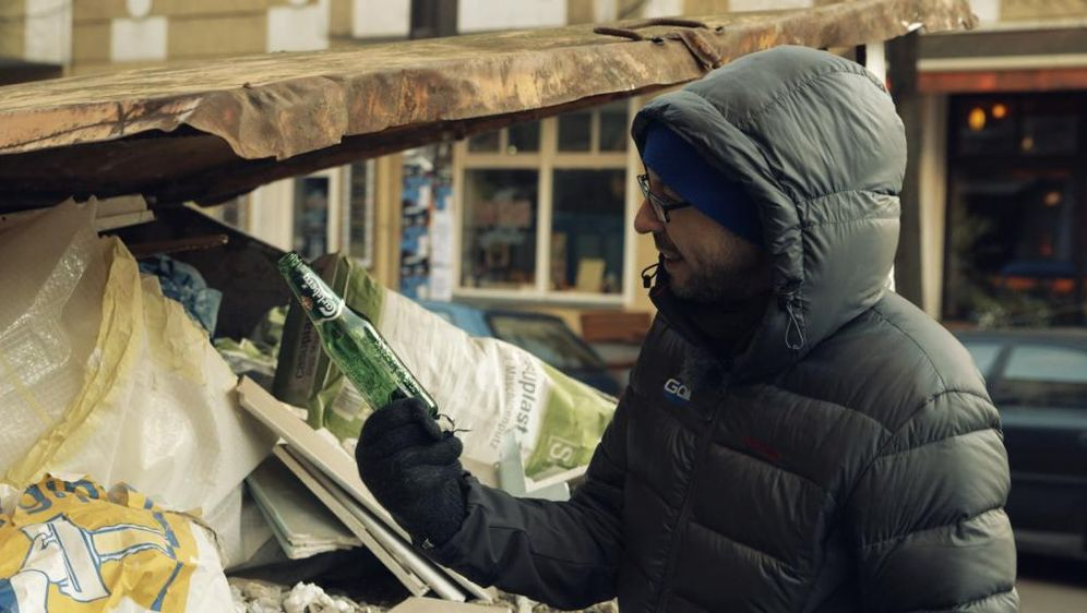 Selbstexperiment Flaschen sammeln