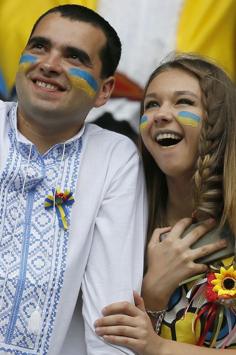 Ukrainean_Couple_PA_81278448 - Bildquelle: DPA / Robert Ghement