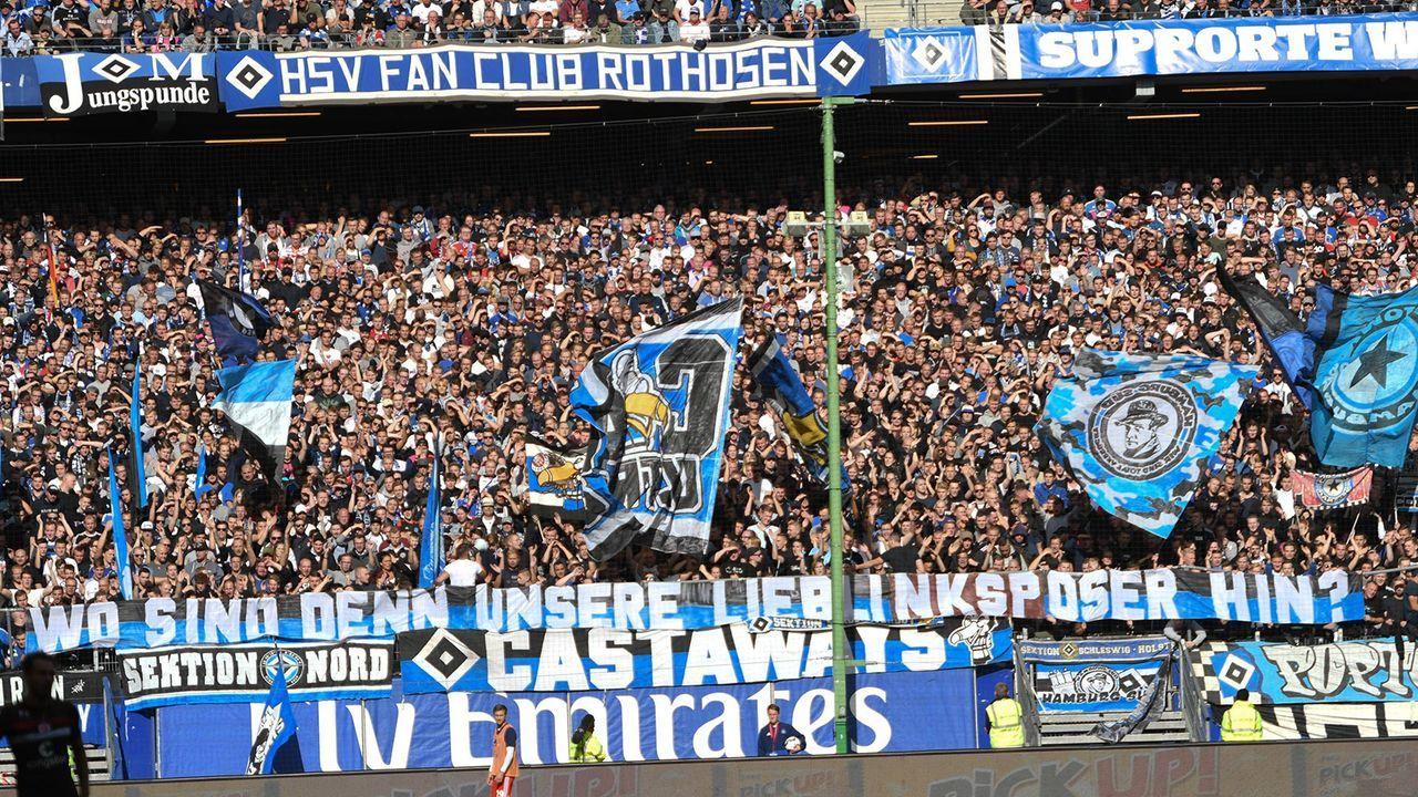Platz 1: Hamburger SV - Bildquelle: imago/Nordphoto