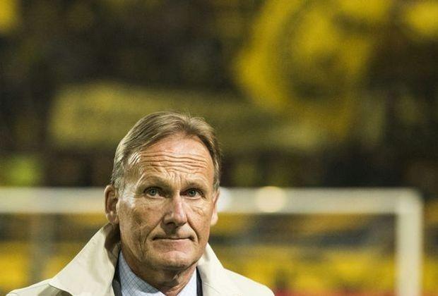 Hans-Joachim Watzke bleibt in Sachen Aubameyang gelassen
