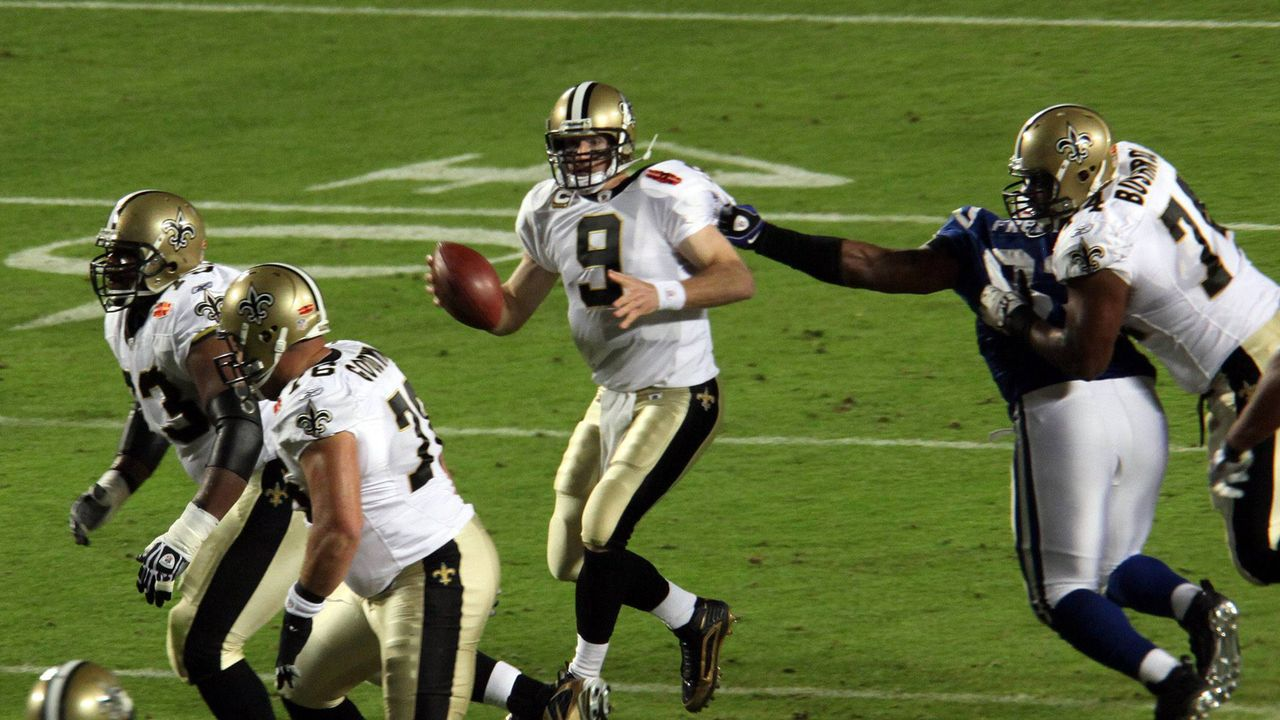 Super Bowl 2010: New Orleans Saints (31:17 gegen die Indianapolis Colts) - Bildquelle: imago sportfotodienst