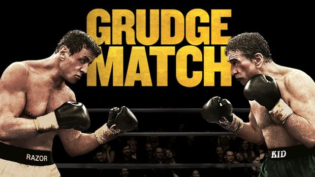 GRUDGE MATCH - Plakatmotiv © 2013 Warner Brothers