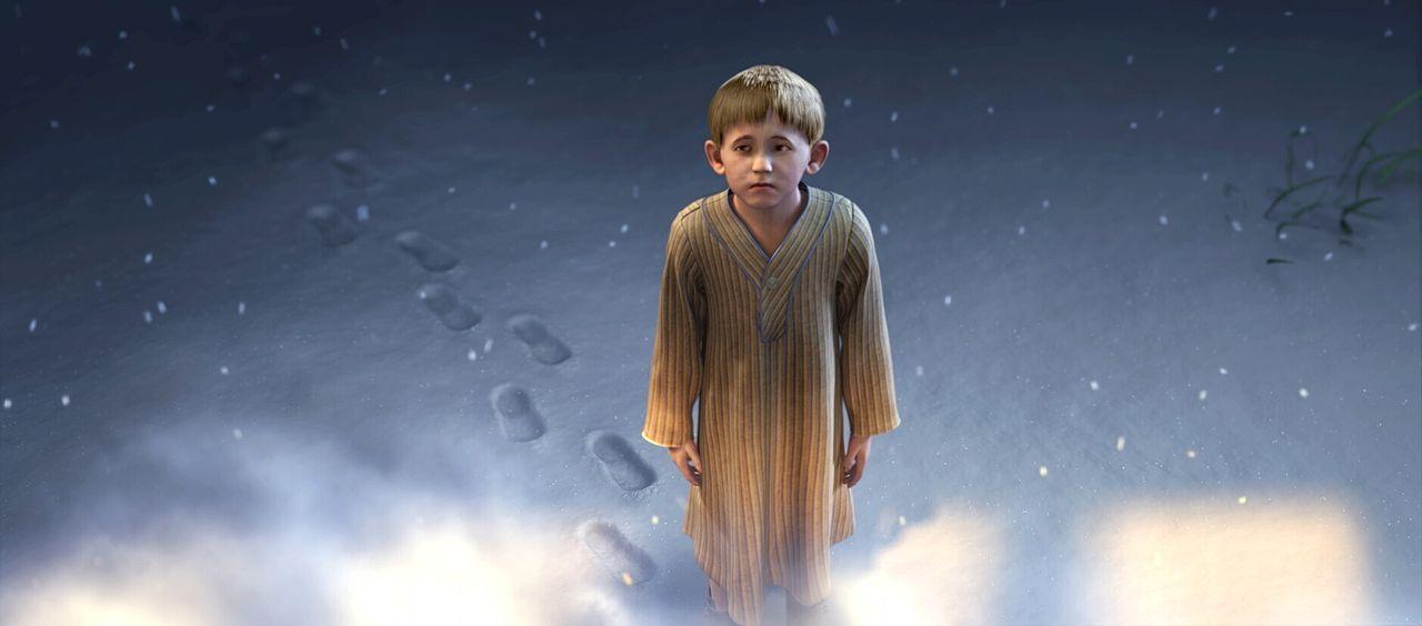Wird der kleine Junge sich doch noch entschließen, auf den Polarexpress aufzuspringen? - Bildquelle: Warner Bros. Pictures