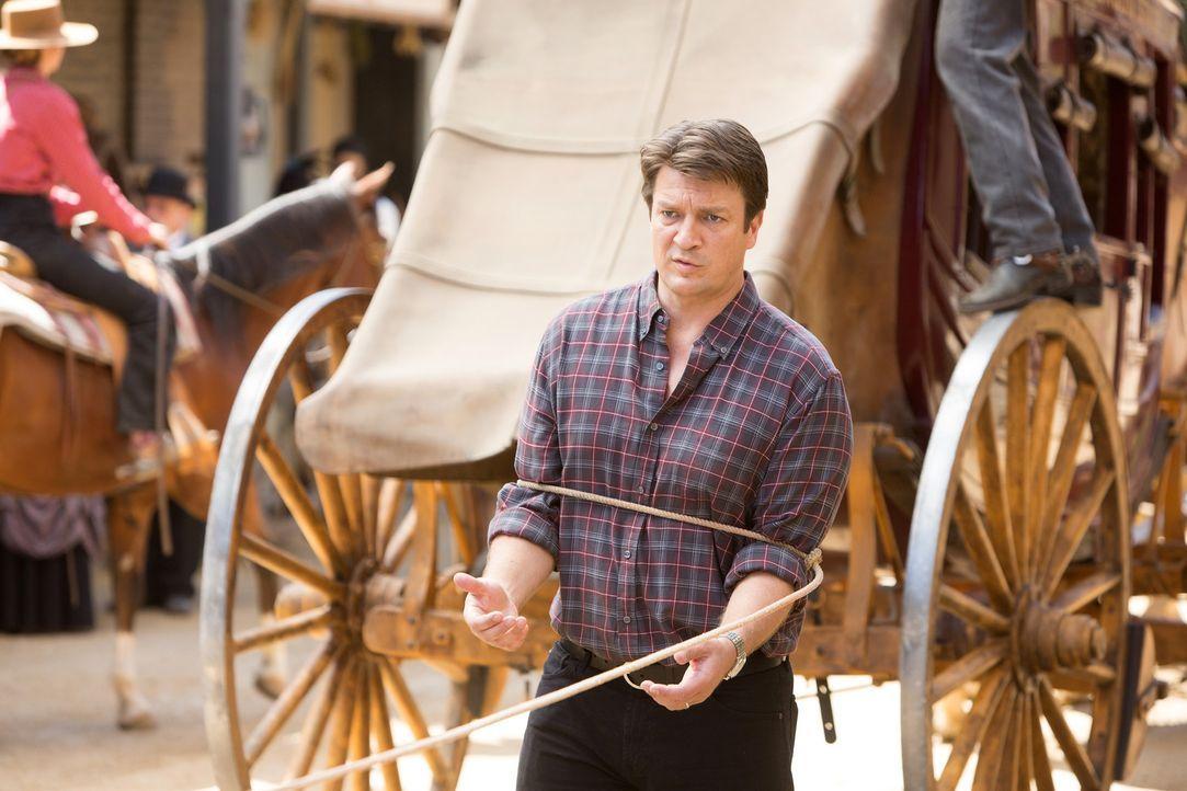 Ein neuer Fall wartet auf Castle (Nathan Fillion) ... - Bildquelle: ABC Studios