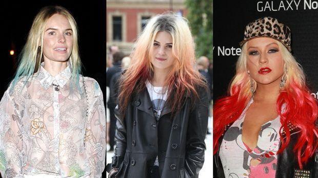 Der Haartrend Dip Dye Hair ist diesen Sommer total angesagt! Beim Ombré-Look...