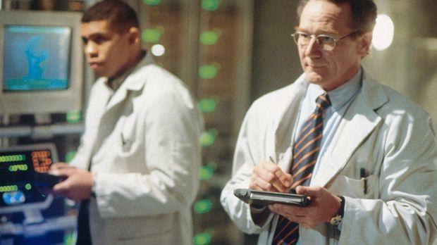 Dr. Haley und sein Assistent haben einen Androiden namens Mona Lisa geschaffe...