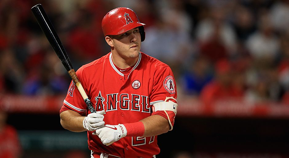 Mike Trout (Baseball) - Bildquelle: 2017 Getty Images