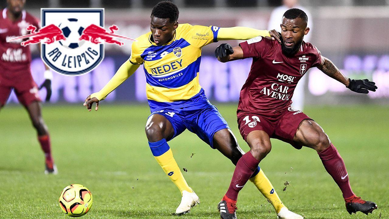 Lucien Agoume (FC Sochaux) - Bildquelle: imago images / PanoramiC