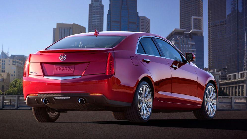 Cadillac_ATS_back - Bildquelle: © GM Co.