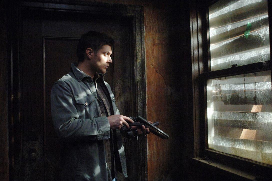 """Sam und Dean (Jensen Ackles) nehmen sich eine Auszeit, um in der Reality Show """"Ghostfacers"""" mitzuspielen, die den Kampf mit dem Paranormalen beschre... - Bildquelle: Warner Bros. Television"""