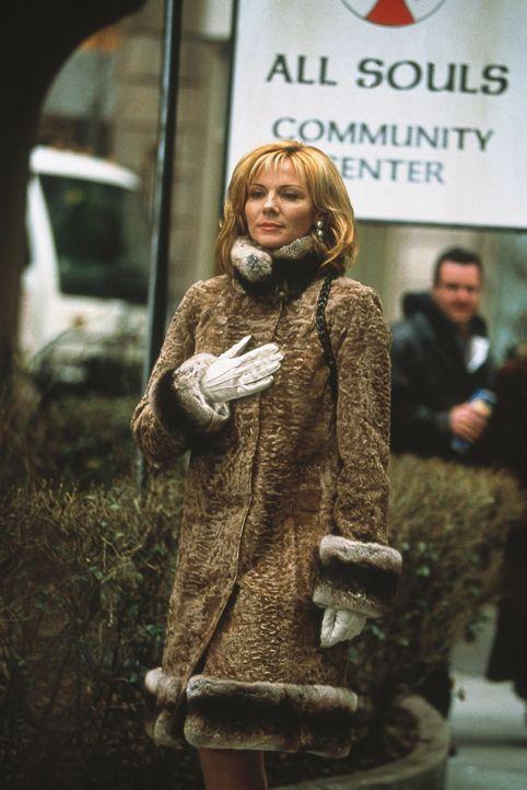 Überzeugt davon, einen Seelenverwandten gefunden zu haben, schießt Sam (Kim Cattrall) bei ihrem ersten Treffen völlig übers Ziel hinaus. - Bildquelle: Paramount Pictures