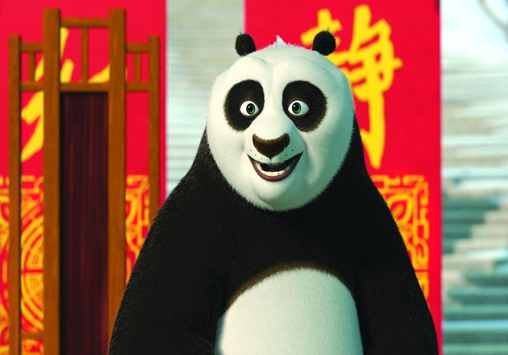 Po freut sich schon sehr auf ein gemütliches Winterfest im Restaurant seines Vaters, als ihm Shifu mittelt, dass er dieses Jahr als Gastgeber des e... - Bildquelle: 2008 DREAMWORKS ANIMATION LLC. ALL RIGHTS RESERVED.