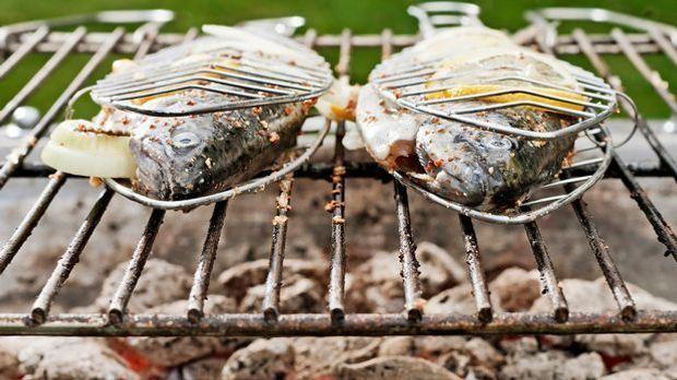 fisch grillen mit dem fischkorb so wird 39 s gemacht. Black Bedroom Furniture Sets. Home Design Ideas
