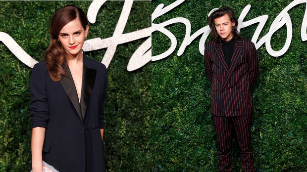 emma watson nach trennung l uft jetzt was mit harry styles sixx. Black Bedroom Furniture Sets. Home Design Ideas