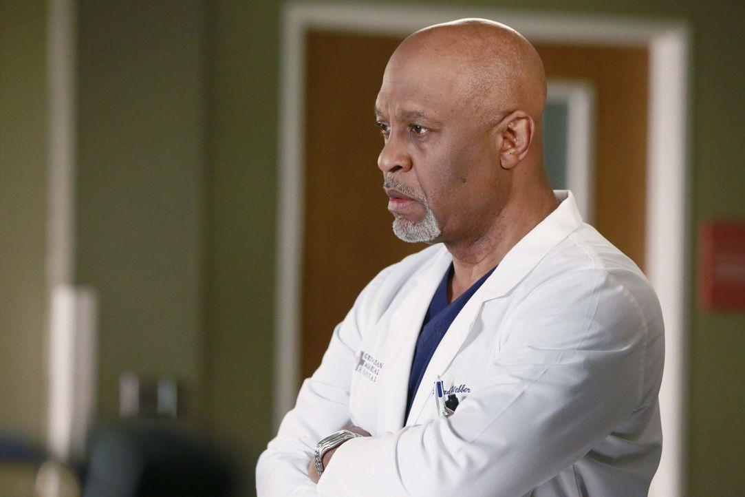 Macht sich Sorgen um Maggie: Richard (James Pickens Jr.) ... - Bildquelle: ABC Studios