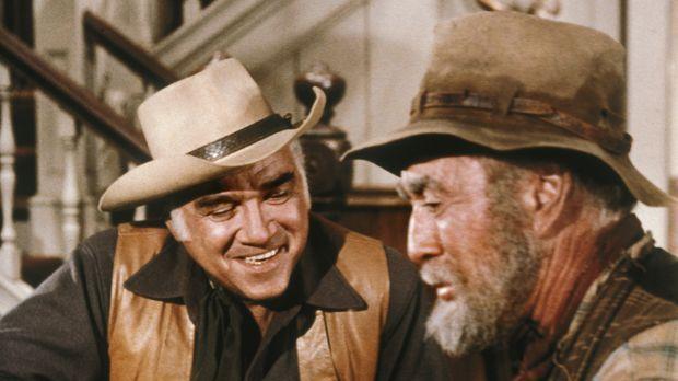 Der alte Gus (George Chandler, r.) hat sein Leben lang nach Gold geschürft. A...