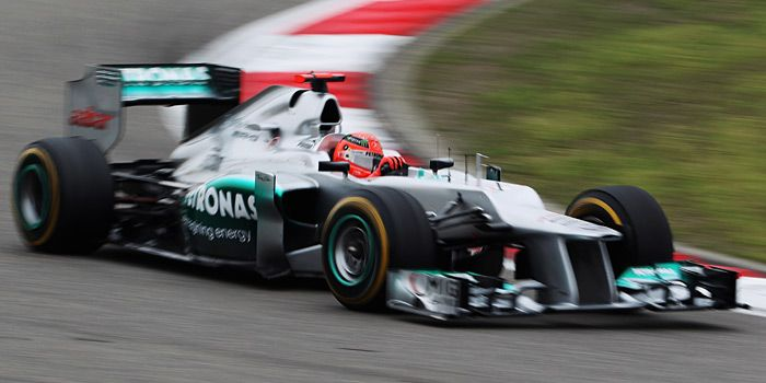 Michael Schumacher in Aktion - Bildquelle: Getty