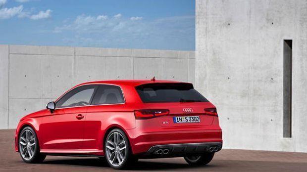 Audi S3 back