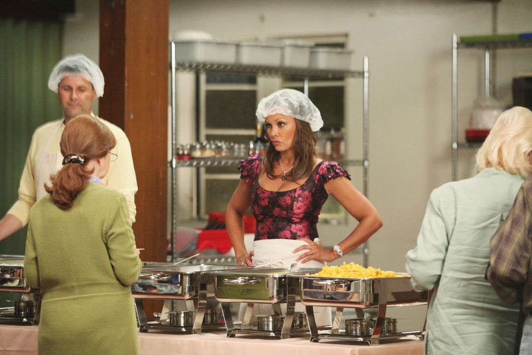 Ihr Date verläuft anders als geplant: Renee (Vanessa Williams, M.) ... - Bildquelle: ABC Studios