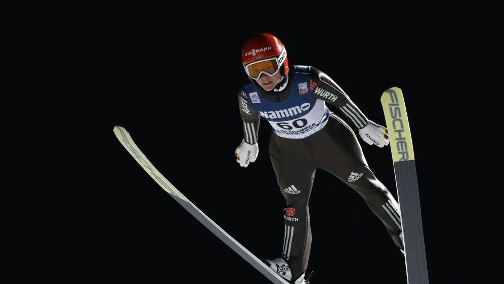 Katharina Althaus springt im japanischen Sapporo erneut aufs Podium - Bildquelle: NTB ScanpixNTB ScanpixSIDTERJE BENDIKSBY