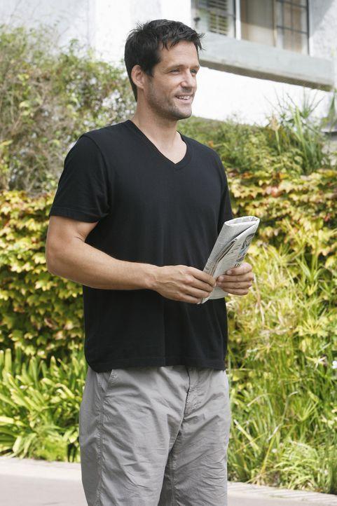 Ist von Jules peinlichem Auftritt mehr als begeistert: Grayson (Josh Hopkins) ... - Bildquelle: 2009 ABC INC.