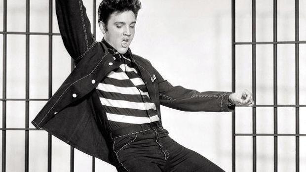 """Mit """"Jailhouse Rock"""" legt Elvis Presley die Grundlage für die moder..."""