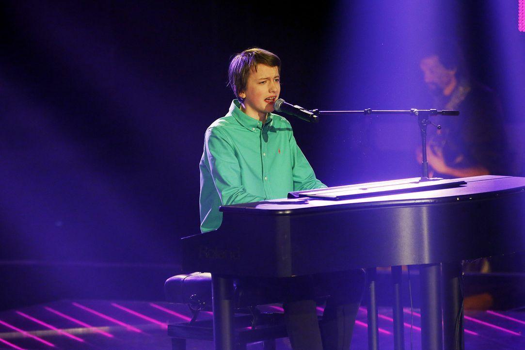 The-Voice-Kids-Stf03-Epi02-Auftritte-Tilman-SAT1-Richard-Huebner - Bildquelle: SAT.1/Richard Huebner