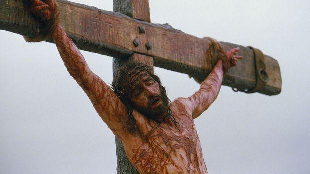 Im Angesicht des Todes, nach einer unglaublichen Leidenszeit, verzeiht Jesus...