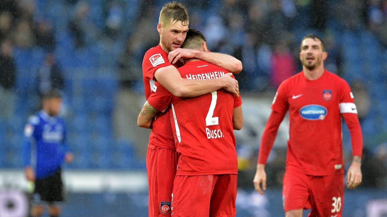 1. FC Heidenheim (6. Platz, 30 Punkte) - Bildquelle: imago/pmk