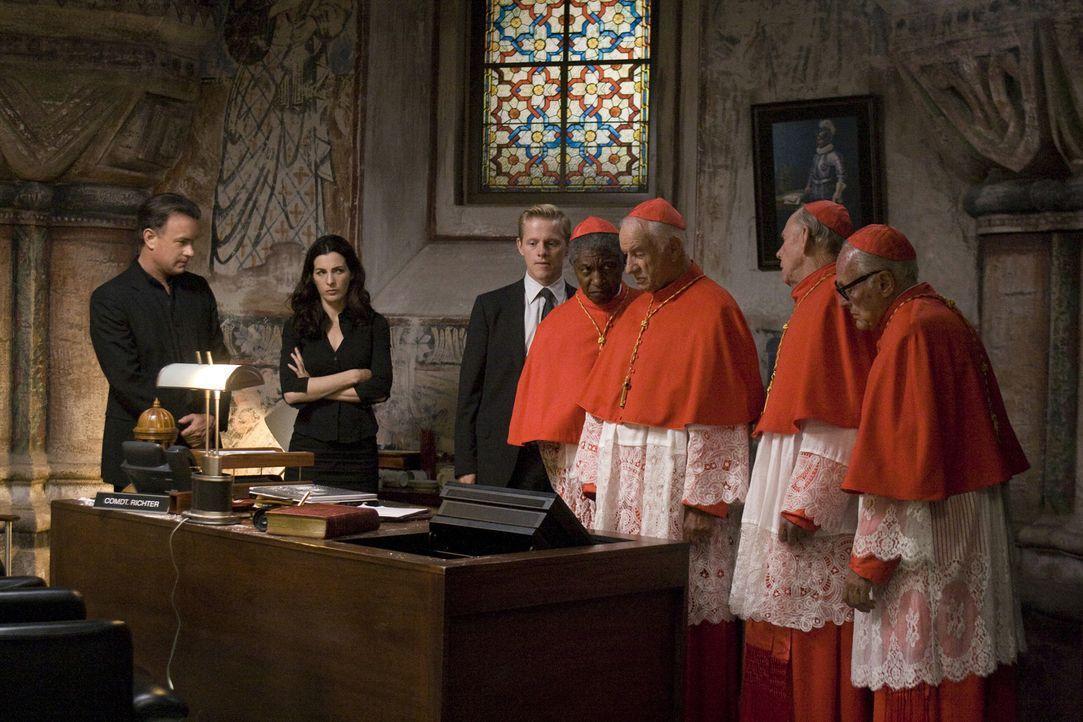 """Der Vatikan ist einer schrecklichen Bedrohung ausgesetzt. Eine Gruppe mit dem Namen """"Die Illuminati"""", der Erzfeind der katholischen Kirche, holt zum... - Bildquelle: 2009 Columbia Pictures Industries, Inc. All Rights Reserved."""