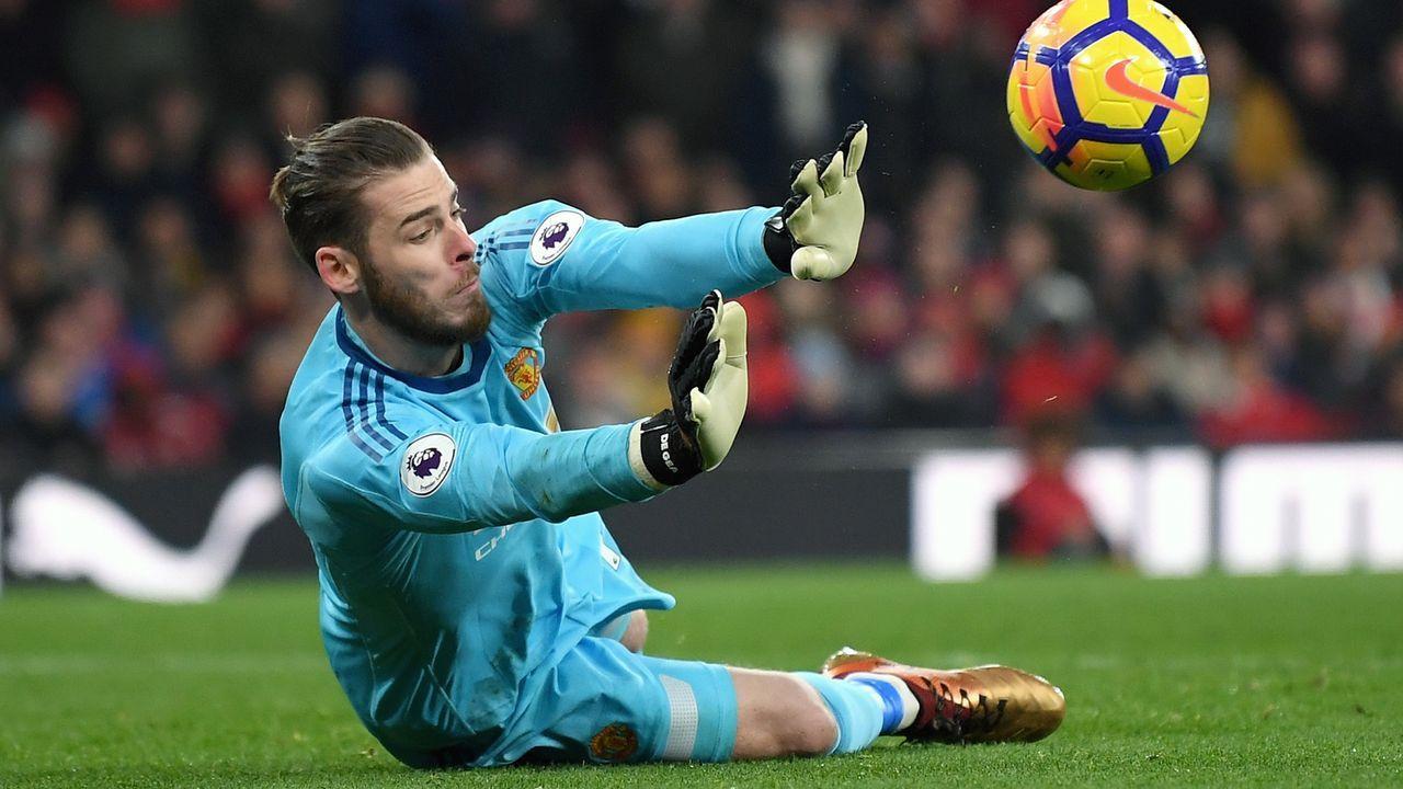 Platz 10 - David de Gea (Manchester United) - Bildquelle: Getty Images