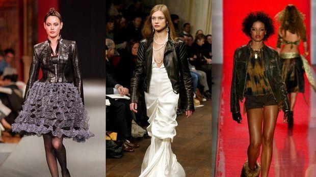 Bikerjacken: Das Fashion Must-have richtig kombinieren