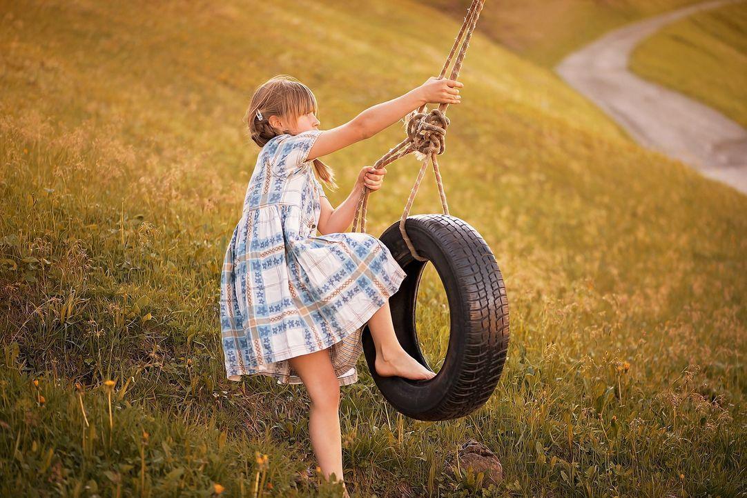 Tipp 6: Für einen Moment wieder Kind seinBis in den HimmelSchaukeln od...
