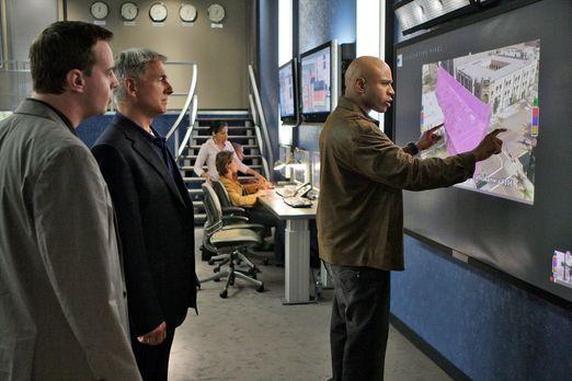 Navy CIS - Gemeinsam versuchen sie einen Fall zu lösen: Special Agent Sam Han...