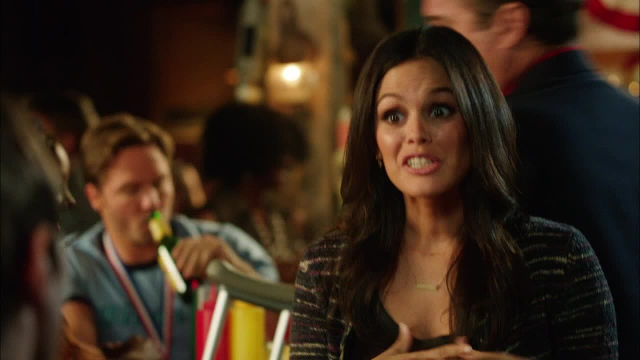 Joel sagt Zoe, dass sie ihn toll unterstützt hat: - Bildquelle: Warner Bros. Entertainment Inc.