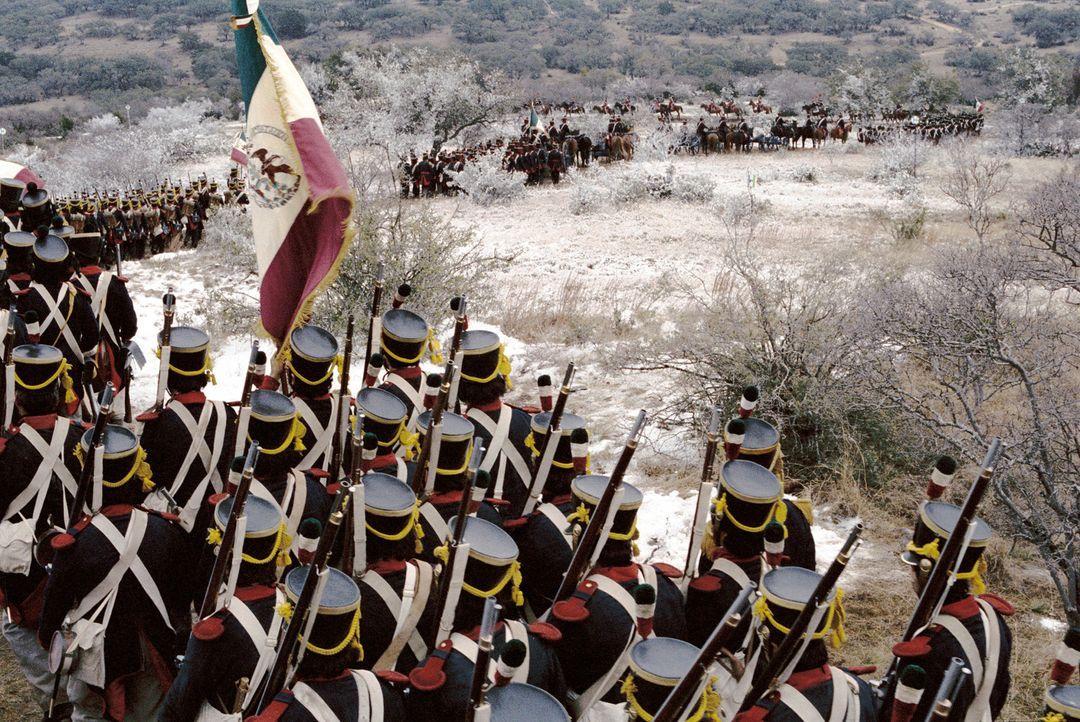 Alamo - eine kleine Mission mitten im nach Unabhängigkeit strebenden Texas. Im Frühjahr 1836 treffen dort 183 heldenhafte Männer zusammen, um das Fo... - Bildquelle: Disney - ABC International Television