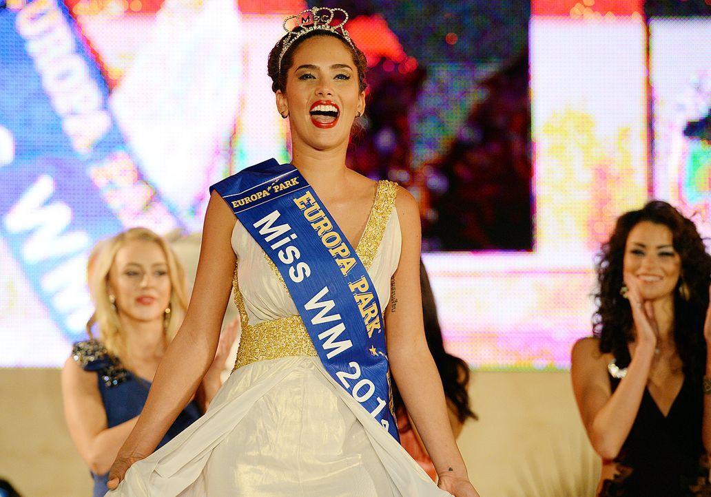 Daniela Ocoro Mejia, die Miss WM 2014 - Bildquelle: dpa