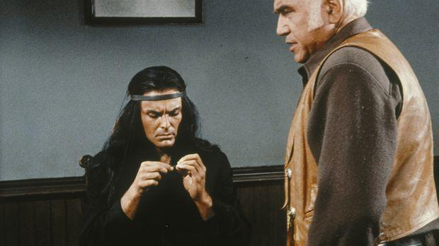 Kann Ben Cartwright (Lorne Greene) Indianerhäuptling Jacova (John Saxon) über...
