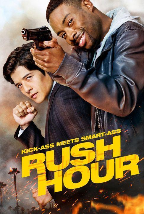 (1. Staffel) - Kulturen prallen aufeinander als der stoische, regelverliebte Detective Lee (Jon Foo, l.) aus Hongkong mit dem unkonventionellen LAPD... - Bildquelle: Warner Brothers